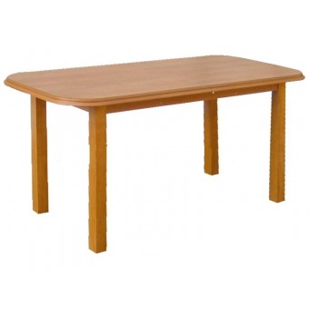 Piano étkezőasztal, 160-as  Fa vázas és bútorlap asztalok