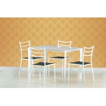 Fred étkező asztal  Fém vázas étkező asztalok