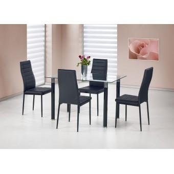 Rubens étkező asztal  Fém vázas étkező asztalok
