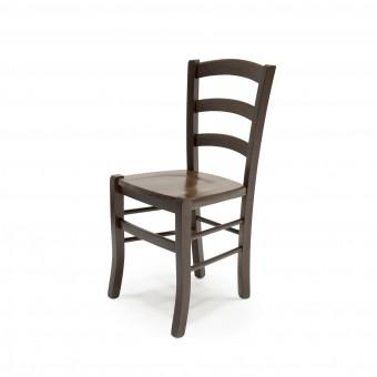Alba étkező szék, fa ülőlapos  Fa vázas étkező székek