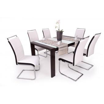 Száva 6 személyes étkező, Piero asztallal  6 személyes étkező garnitúrák