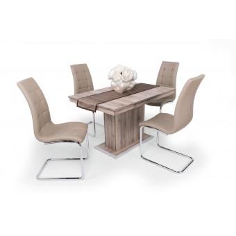 Emma 4 személyes étkező, kis Flóra asztallal  4 személyes étkező garnitúrák