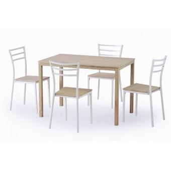 Avant étkezőgarnitúra, 4 személyes  4 személyes étkező garnitúrák Fém vázas étkezők