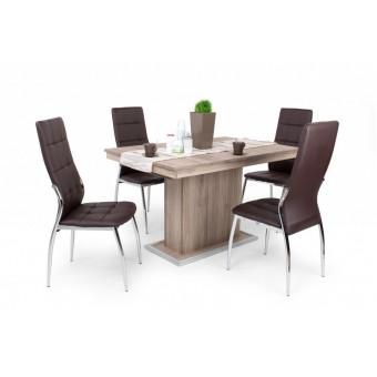 Boris 4 személyes étkező, kis Flóra asztallal  4 személyes étkező garnitúrák