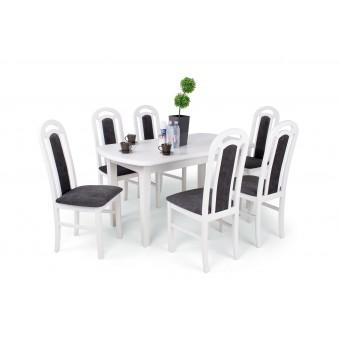 Piano 6 személyes étkező, Dante 160-as asztallal  6 személyes étkező garnitúrák