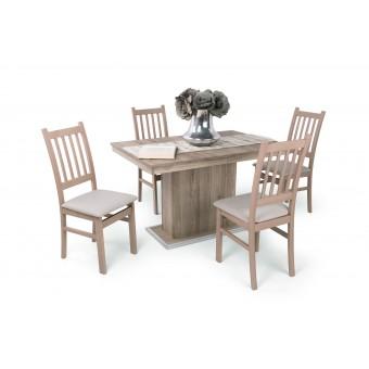 Delta 4 személyes étkező, kis Flóra asztallal  4 személyes étkező garnitúrák