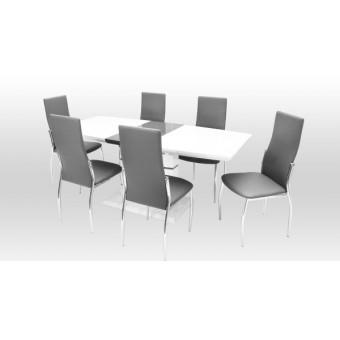 Toni 6 személyes étkező, Aurél asztallal  6 személyes étkező garnitúrák