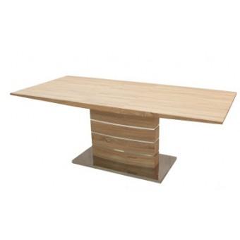 Claudia 160-as étkezőasztal  Fa vázas és bútorlap asztalok Design étkező asztal