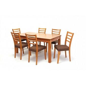 Alina 6 személyes étkező, Berta asztallal  6 személyes étkező garnitúrák