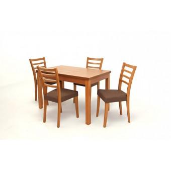 Alina 4 személyes étkező, Berta 120-as asztallal  4 személyes étkező garnitúrák