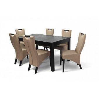 Tália 6 személyes étkező, Oregon asztallal  6 személyes étkező garnitúrák