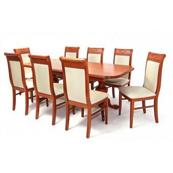 Raffaello 8 személyes étkező, Európa max asztallal  8 személyes étkező garnitúrák