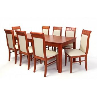 Raffaello 8 személyes étkező, Oregon max asztallal  8 személyes étkező garnitúrák