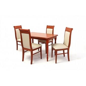 Raffaello 4 személyes étkező, Wénusz 120-as asztallal  4 személyes étkező garnitúrák