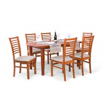 Bianka 6 személyes étkező, Dante 160-as asztallal  6 személyes étkező garnitúrák