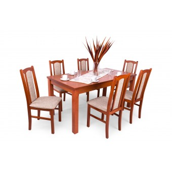Sophia 6 személyes étkező, Berta asztallal  Hétvégi akció 6 személyes étkező garnitúrák