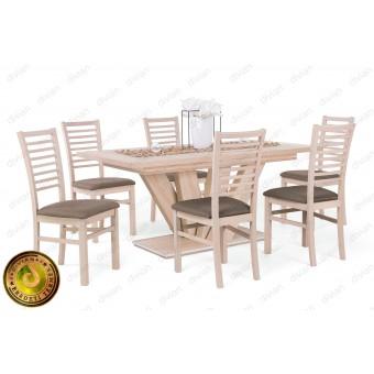 Bianka 6 személyes étkező, Dorka 170-es asztallal  6 személyes étkező garnitúrák