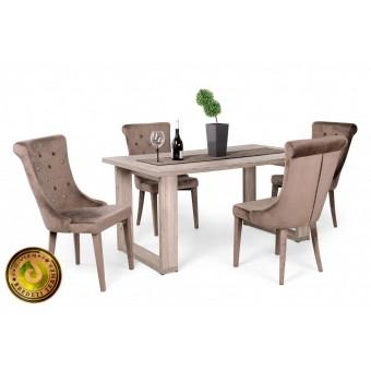 Cleopatra étkező, Atlantis asztallal  4 személyes étkező garnitúrák