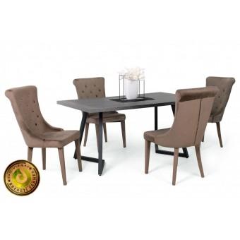 Cleopatra étkező, Caesar asztallal  4 személyes étkező garnitúrák