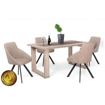 Domino étkező, Atlantis asztallal  4 személyes étkező garnitúrák