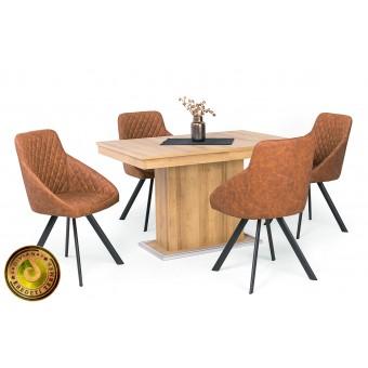 Domino étkező, Flóra kis asztallal  4 személyes étkező garnitúrák