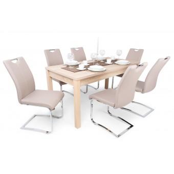Új Mona 6 személyes étkező, Berta asztallal  6 személyes étkező garnitúrák