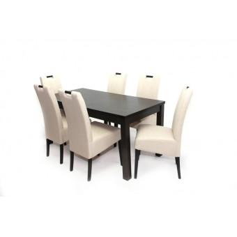 Atos 6 személyes étkező, Berta 160-as asztallal  6 személyes étkező garnitúrák