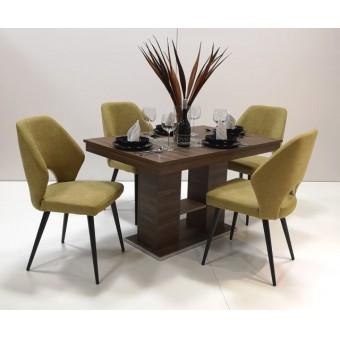 Aspen 4 személyes étkező, Corfu kis asztallal  4 személyes étkező garnitúrák