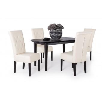 Royal 4 személyes étkező, Dante 140-es asztallal  4 személyes étkező garnitúrák