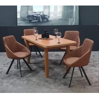 Domino étkező, Piano asztallal  4 személyes étkező garnitúrák Heti akció