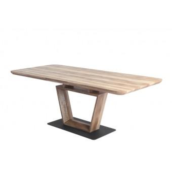 Leon asztal 160-as  Újdonságok Fa vázas és bútorlap asztalok Design étkező asztal