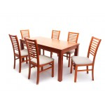 Dávid étkező garnitúra, 6 személyes  6 személyes étkező garnitúrák