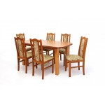 Boss XV. étkező garnitúra, 6 személyes  6 személyes étkező garnitúrák