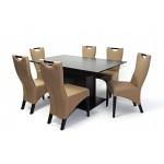 Tália 6 személyes étkező, Savona asztallal  6 személyes étkező garnitúrák