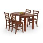 115-ös étkező asztal  Fa étkező asztalok