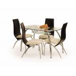 Corwin étkező asztal  Fém vázas étkező asztalok