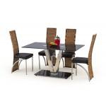 Velvet étkező asztal  Fém vázas étkező asztalok