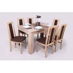 Sophia 6 személyes étkező (Félix asztallal)  6 személyes étkező garnitúrák
