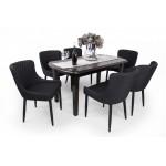 Brill 6 személyes étkező, Dante 160-as asztallal  6 személyes étkező garnitúrák