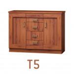 Tadeus (T5) komód  Tadeus tálaló szekrény