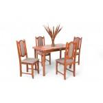 Lina 4 személyes étkező, Piano 120-as asztallal  4 személyes étkező garnitúrák