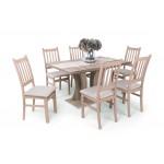 Delta 6 személyes étkező, Bella 170-es asztallal  6 személyes étkező garnitúrák