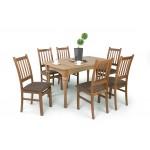 Delta 6 személyes étkező, Benita 170-es asztallal  6 személyes étkező garnitúrák