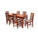 Félix 6 személyes étkező, Berta asztallal  6 személyes étkező garnitúrák