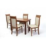 Raffaello 4 személyes étkező, Piano 120-as asztallal  4 személyes étkező garnitúrák
