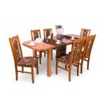 Sophia 6 személyes étkező, Piano asztallal  6 személyes étkező garnitúrák