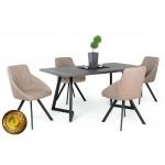 Domino étkező, Caesar asztallal  4 személyes étkező garnitúrák Heti akció